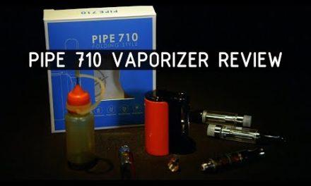 Vapmod Tech Pipe 710 Folding Cartridge Vaporizer Review