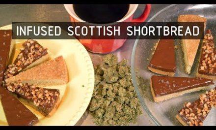 Infused Scottish Shortbread Cookies Recipe: Infused Eats #57