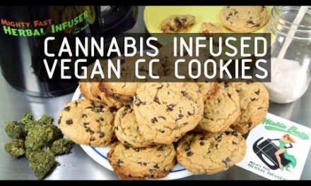 Cannabis Infused Vegan Chocolate Chip Cookies Recipe: Infused Eats #59