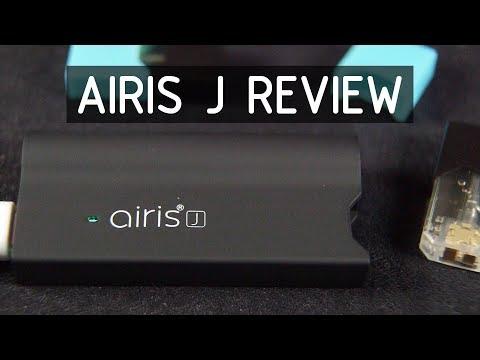 Airis J Pods Vaporizer Review | cannektme | Professional