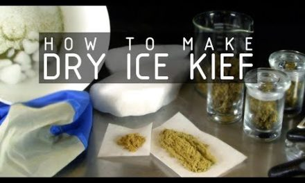 Dry Ice Kief to Rosin Press to Cannabis e Juice (Part 1) Cannabasics #109