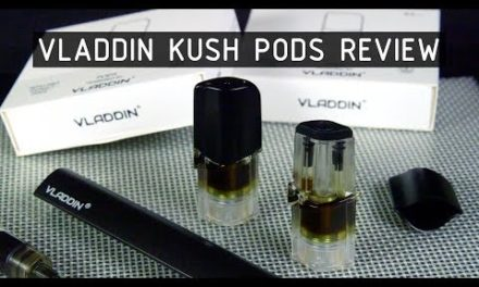 Vladdin Kush Pods Refillable THC/CBD Extract Pods Review