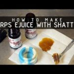 How to Make Terpenes eJuice with Wax, Shatter and Rosin: Cannabasics #111