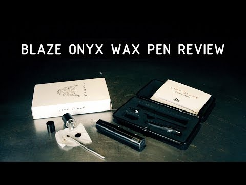 Linx Blaze Onyx Concentrates Pen & Budder Cups Review