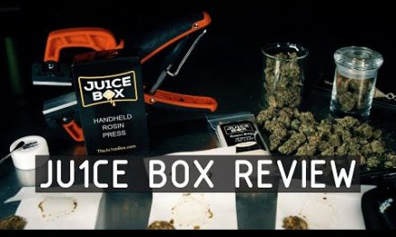 Ju1ce Box Portable Rosin Press Review