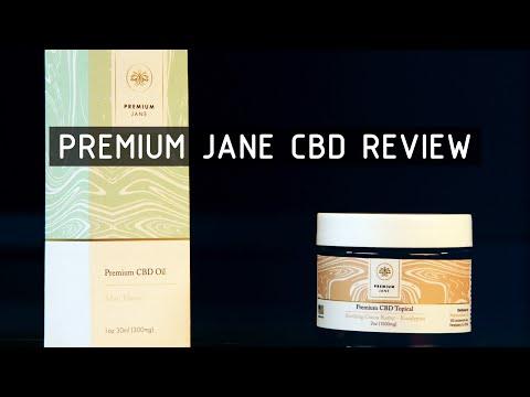 Premium Jane CBD Oil & Topical Product Review